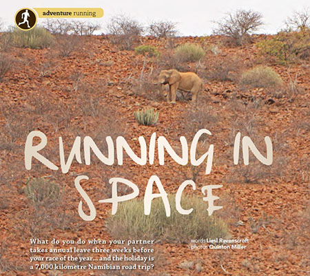 Running in space Liesl Ravencroft TRAIL t9