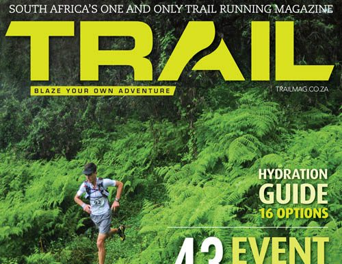 TRAIL 2 cover with runner Jock Green by photographer Kelvin Trautman