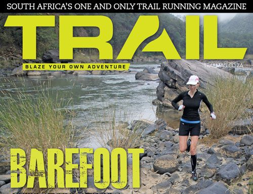 TRAIL 3 cover with Sonja Stafford-Northcote by photographer Deon Braun