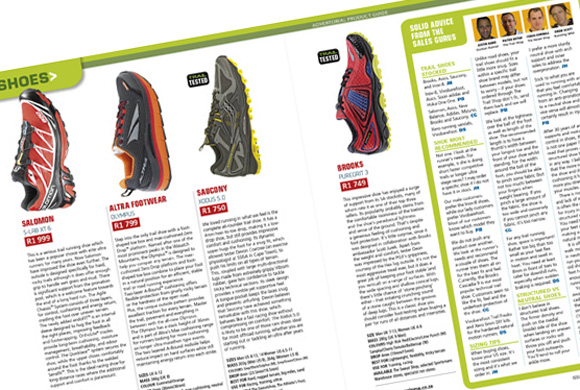 Shoes Product Guide TRAIL 13