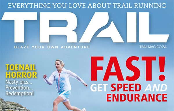 TRAIL 6 cover with Megan Mackenzie by photographer Kelvin Trautman