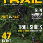 TRAIL 9 cover Otter runners by photographer Kelvin Trautman
