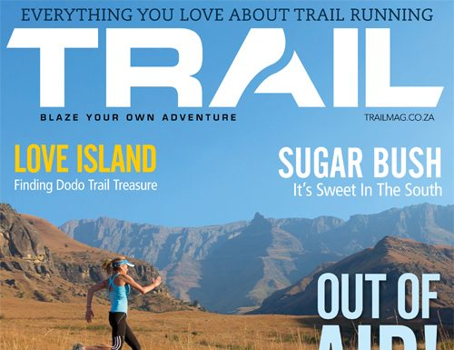 TRAIL 8 magazine cover Tracy Zunckel