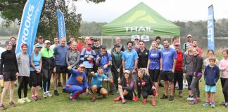 LoveTrail White Mountain 2016 group photo at start Deon Braun