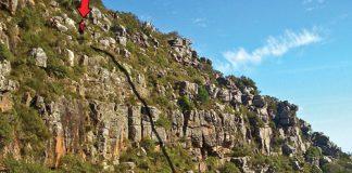 Table Mountain fall Nic Nicolle