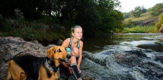 Nicolette Griffioen at Henops River