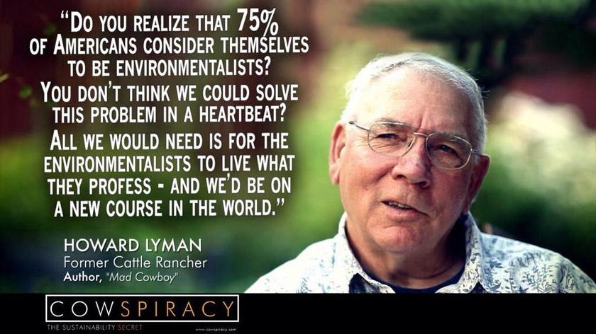 Howard Lynman former cattle rancher