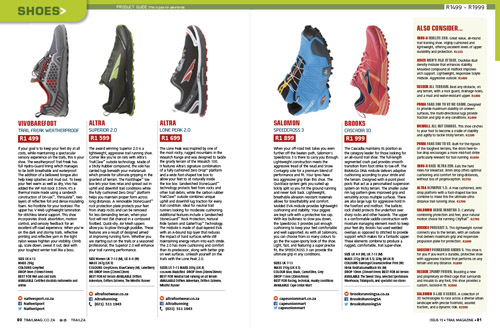 Shoes product guide