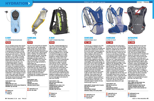Hydration guide for Trail 15
