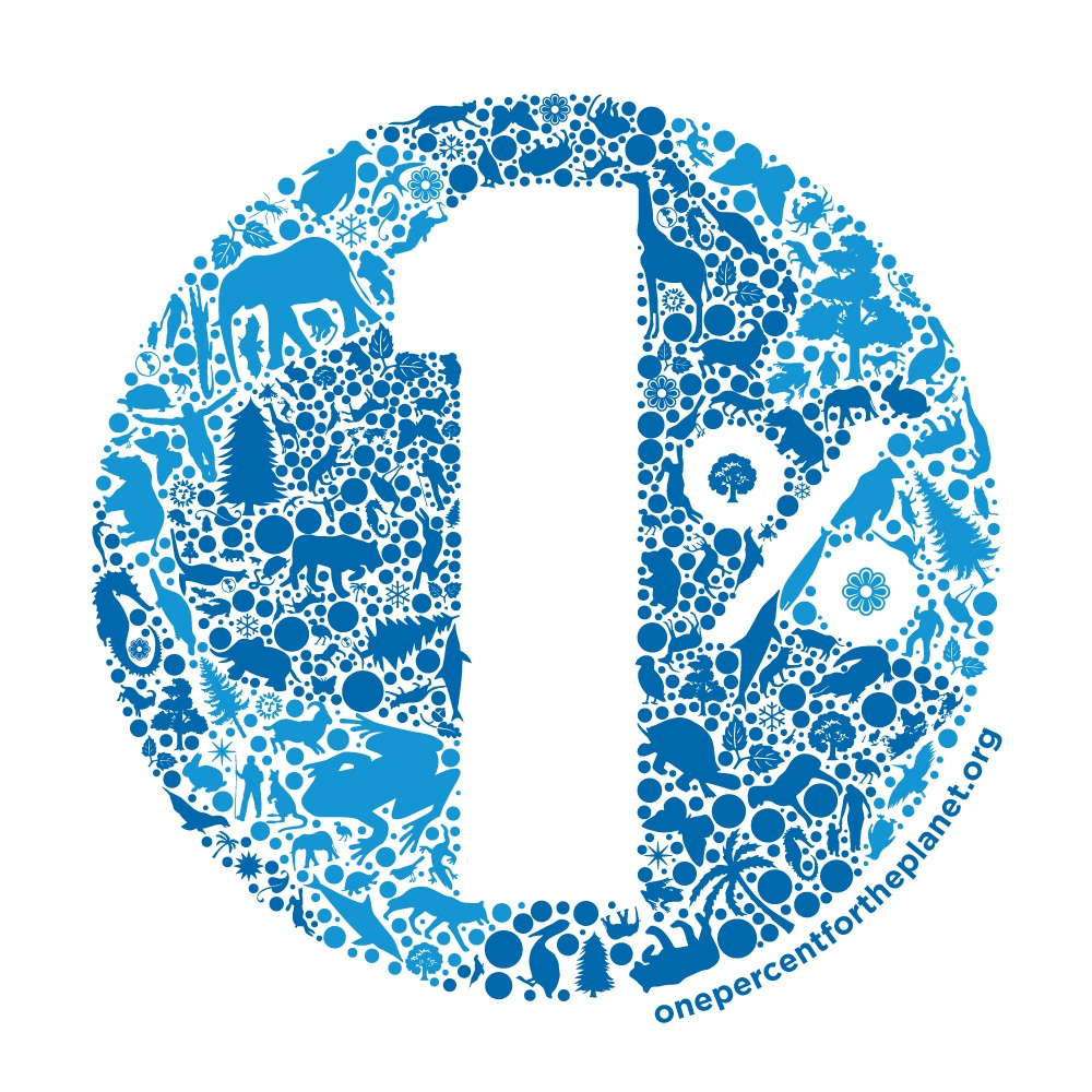 1% One Percent for the Planet Network Logo 2017