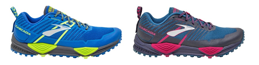 Brooks prize Cascadia 13 men & women Cascadia 13 in TRAIL magazine issue 28 900pixels