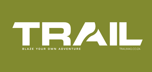 TRAIL magazine logo 500pixels white on olive