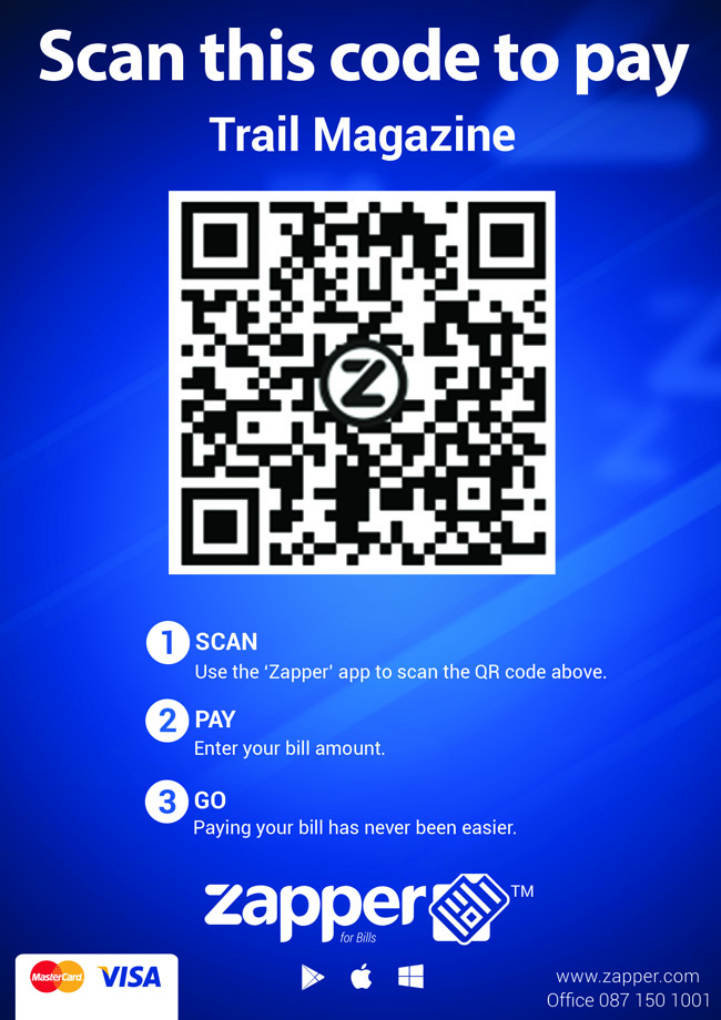 Zapper QR Code Trail Oct 2016