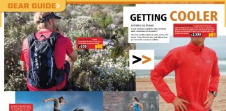 Product Guide TRAIL magazine issue 18 K-Way AJ Calitz The North Face