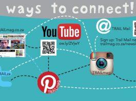 TRAIL magazine social media Facebook Twitter Instagram YouTube Pinterest