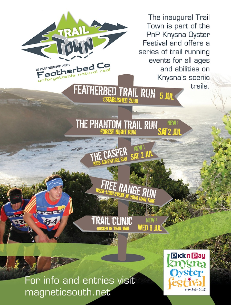The Simola Phantom Trail Run at Knysna Oyster Festival 2016