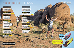 Klipspringer Challenge by Anene Burger contents page TRAIL 20