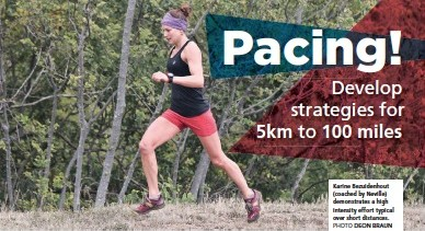 Pacing article Coach Neville Beeton image of Karine Bezuidenhout TRAIL 20