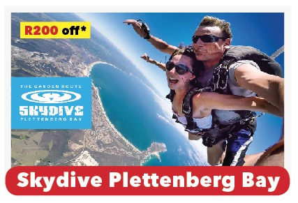 Skydive Plettenberg Bay TRAIL 20
