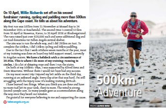 Willie Richards 500km+ TRAIL 20