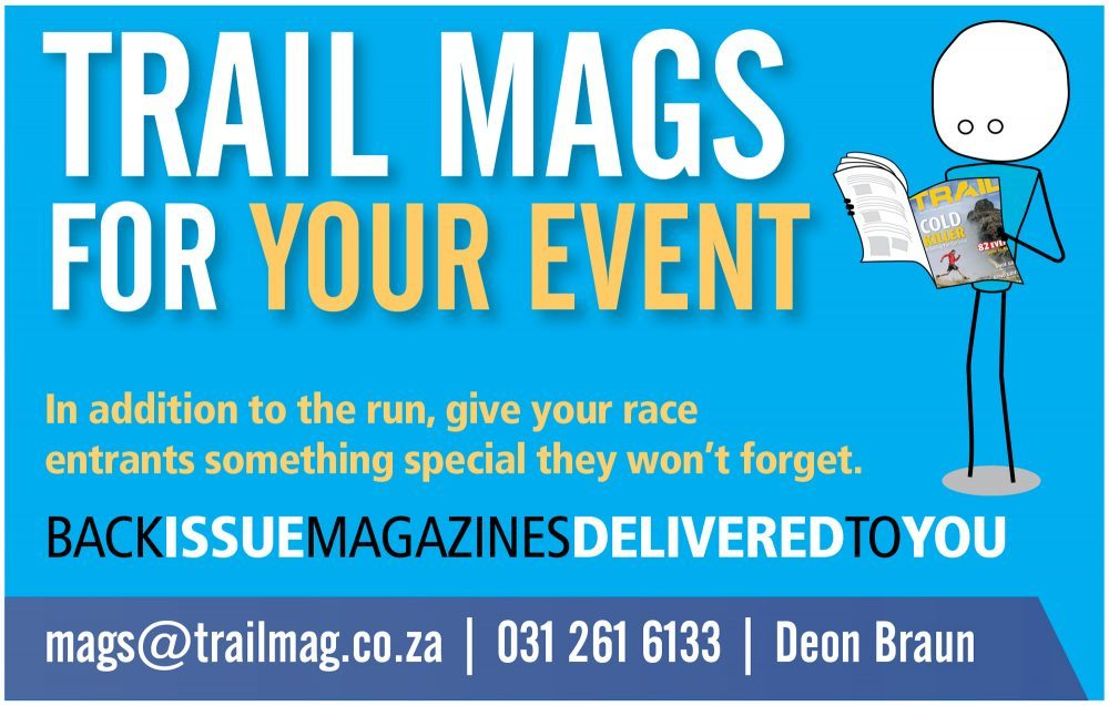 Back issues TRAIL magazines for events
