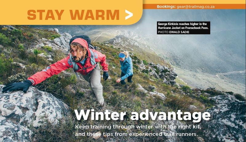 Winter guide stay warm TRAIL 23