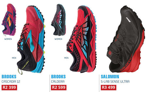 trail shoes Salomon Brooks product guide TRAIL 23
