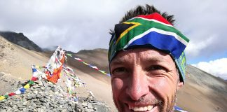 Andrew Porter Great Himalaya Trail Top of Bagala La