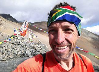 Andrew Porter Great Himalaya Trail Top of Bagala La