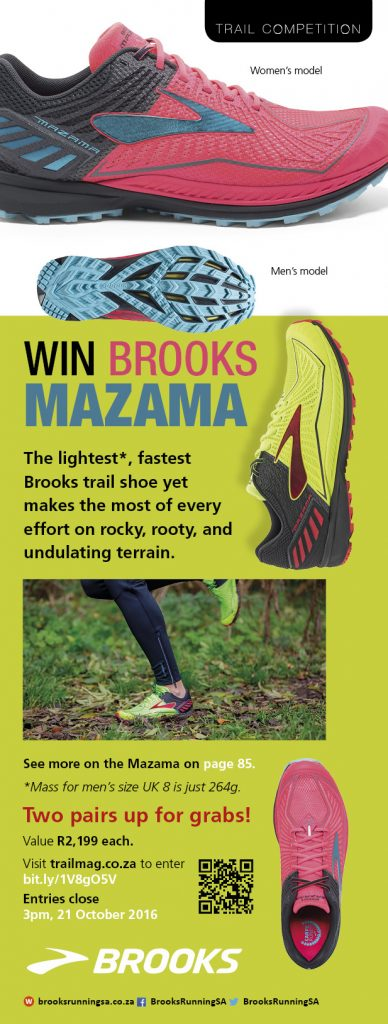 Brooks competition win two Mazama t20