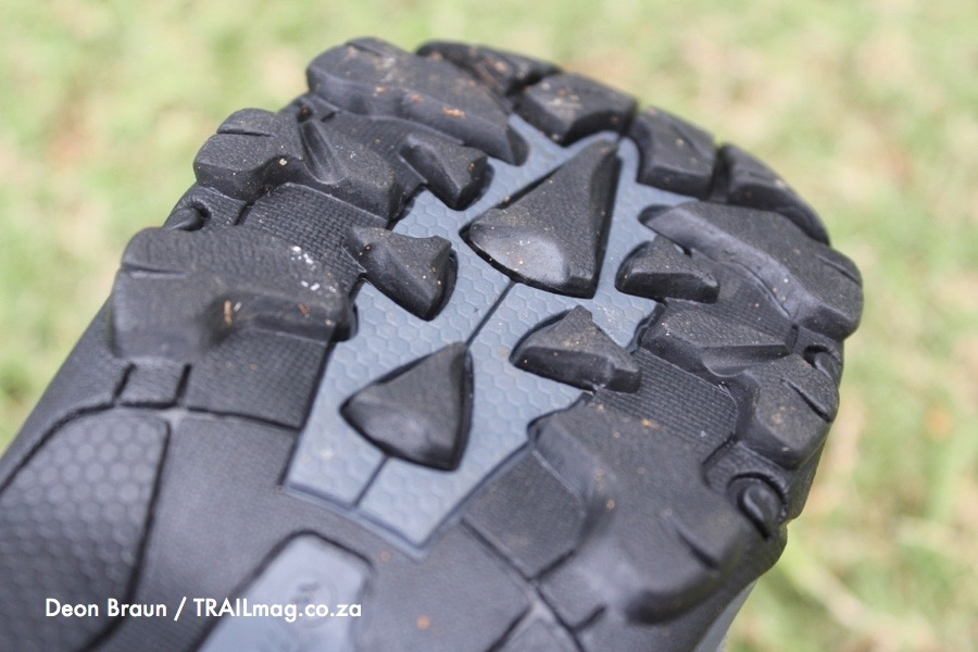 Hi-Tec Griffon shoe lugs Deon Braun photo TRAIL magazine review