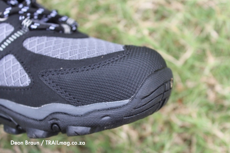 hi-tec griffon shoe review sturdy toebox