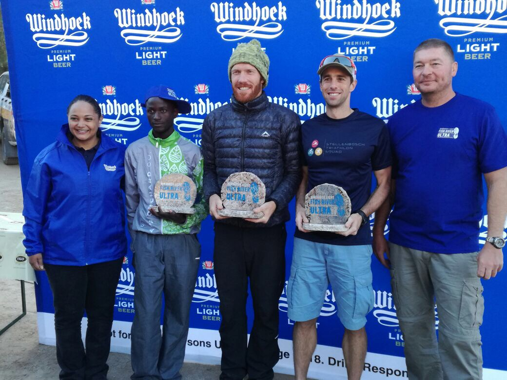 Fish River Canyon Ultra podium