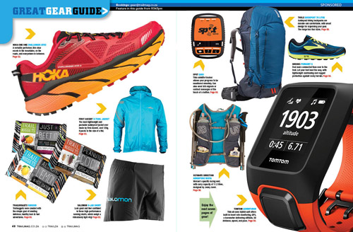 Gear guide opening spread TRAIL 24