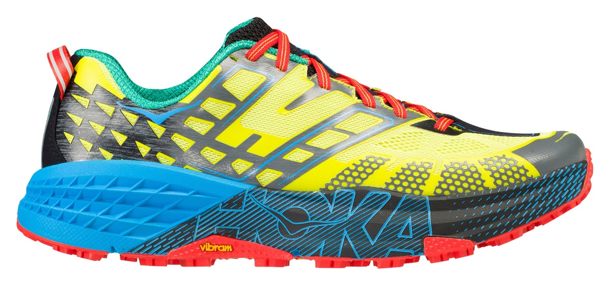 c0cacd627f68 Win Hoka One One Speedgoat 2 trail running shoes with TRAIL magazine