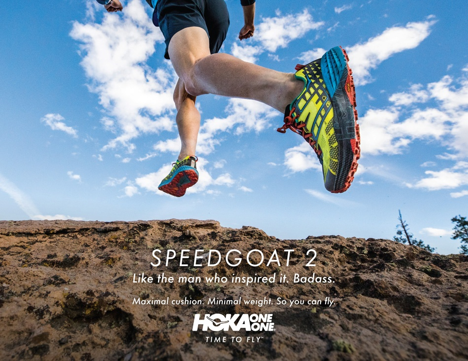 Hoka_One One Speedgoat 2 trail shoe competition giveaway