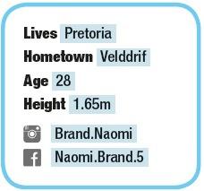 Naomi Brand personal profile TRAIL 24