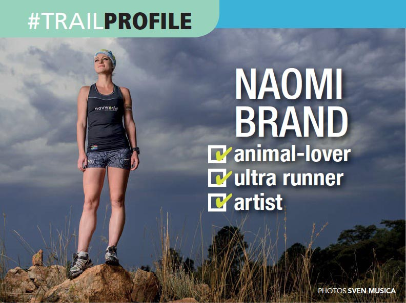 Naomi Brand profile interview by Sven Musica TRAIL 24