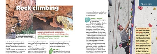 rock climbing article Fred Richardson and Chantelle Booysen TRAIL 24