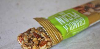 Pekant Granola Pecan Bar Deon Braun pix wrapper opened