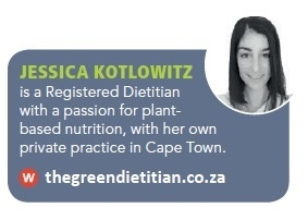 Jessica Kotlowitz Green Dietitian TRAIL 25