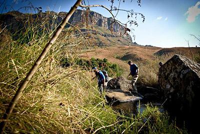 Nine Peaks Challenge Mafadi Alex Harris Tian Liebenberg by Erik Vermeulen TRAIL 25