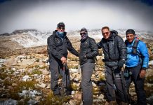Nine Peaks Challenge team seweekspoort WC by Erik Vermeulen TRAIL 25