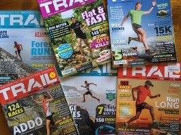 Back issue TRAIL magazine South Africa covers goodie bags