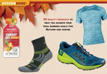 Autumn guide opening spread biogen FALKE First Ascent Salomon TRAIL 27