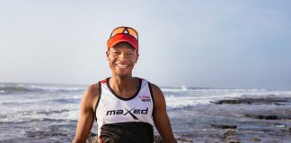 Prodigal Khumalo cover athlete smile by Julian Schroeder TRAIL 27