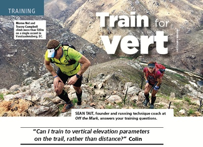 Train for vertical gain by Sean Tait TRAIL 27