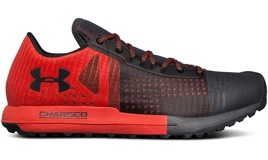 Under Armour Horizon KTV trail shoe competition giveaway red model