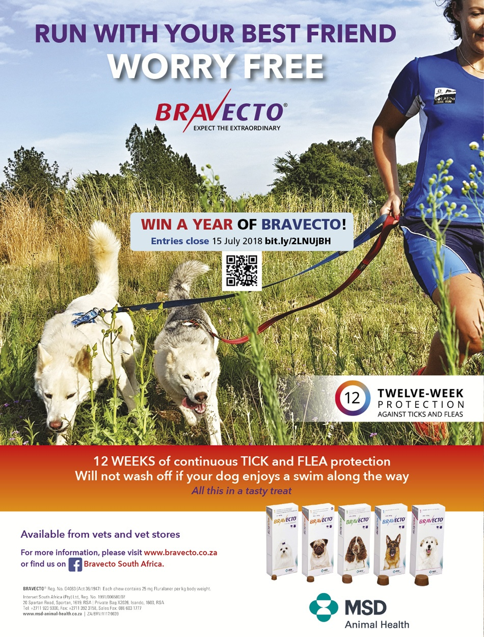 Bravecto full page competition TRAIL magazine T28 website 900pixels