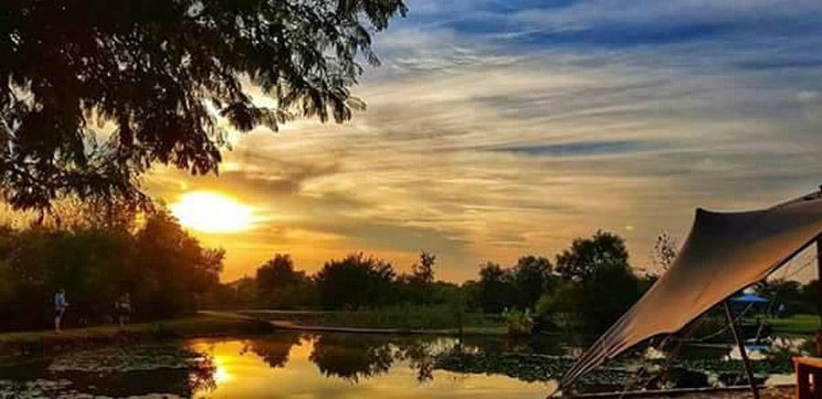 Buffelsdrift Trail Park sunset